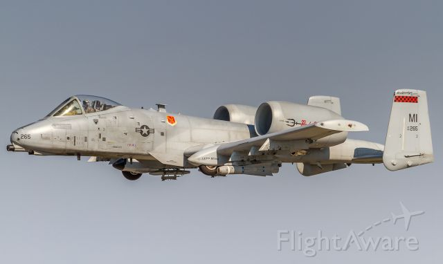Fairchild-Republic Thunderbolt 2 (80265) - A low high speed pass of this fabulous A10 at Airshow London 2017