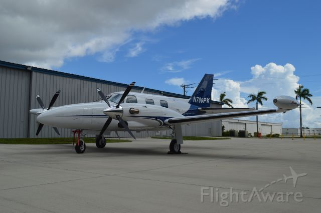 Piper Navajo (N700PK) - Pompano Aviation - Taken by Kyle McConnell