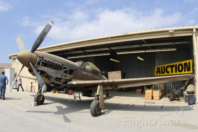 N5416V — - P-51D Mustang 44-84896 on probate auction preview day. 6/1/15