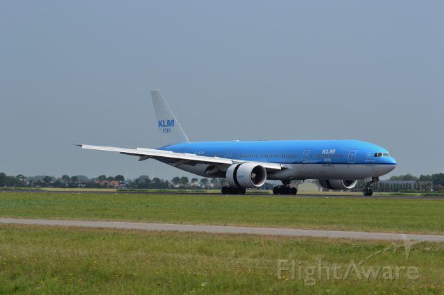 Boeing 777-200 (PH-BQM)