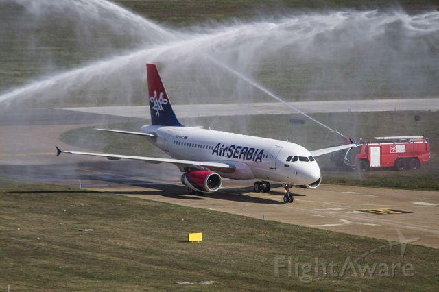 Airbus A319 (YU-APC) - New plane in Air Serbia