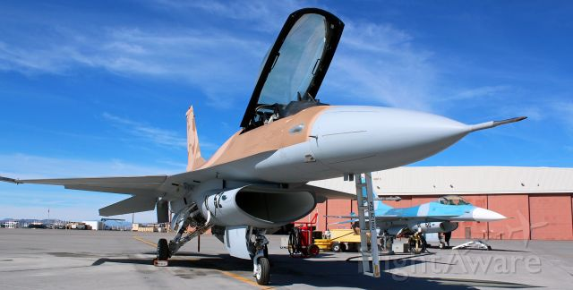 """Lockheed F-16 Fighting Falcon (92-0408) - Flashback to 2019 ~~<br />""""Side Five Two,"""" a Viper at NAS Fallon (920408), awaits its next """"mission.""""<br />Hi to Julian and the others I met out there. Hopefully, now that the Covid crisis is gradually being controlled, I'll get to see you guys again. Be safe, guys."""