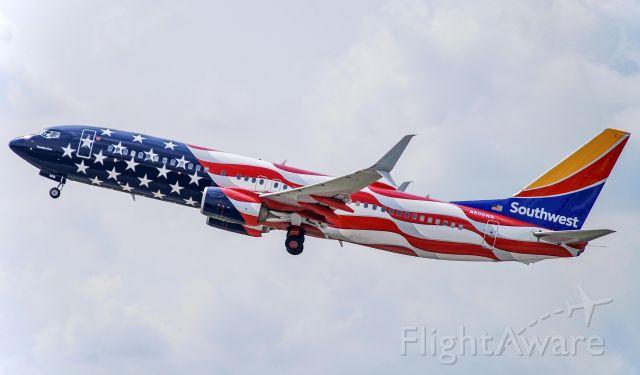 Boeing 737-800 (N500WR) - Beautiful!  7/10/21