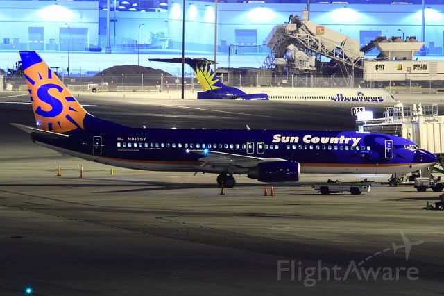 Boeing 737-800 (N813SY) - For some reason Sun Country isn