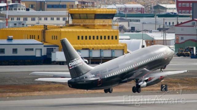 Boeing 737-200 (C-FYPN) - Beautiful day in Iqaluit, Nunavut SEP.5.2019