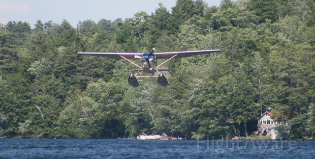 N9851Z — - Little Squam Ashland NH takeoff