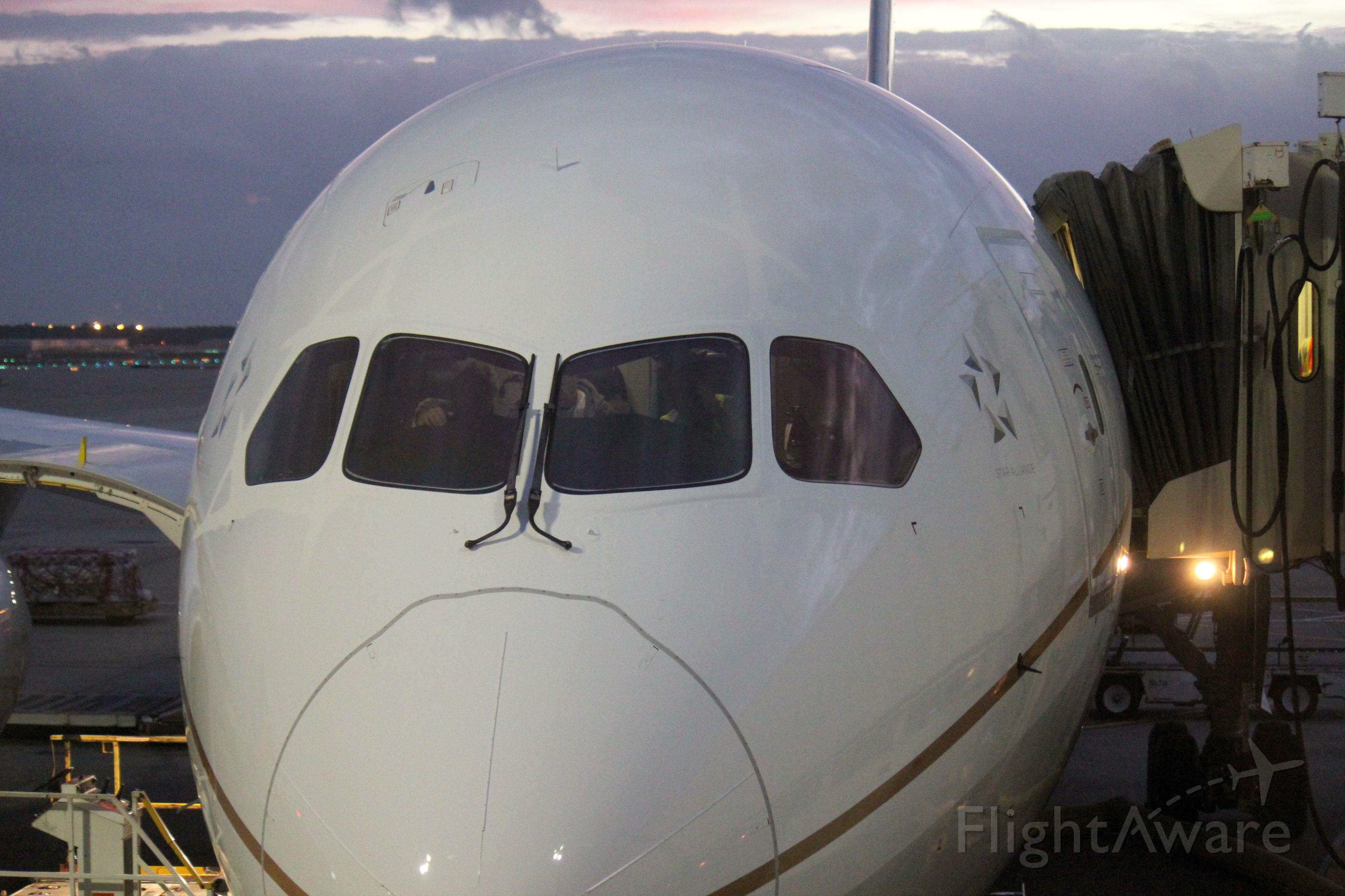 Boeing Dreamliner (Srs.8) (N26906) - Boarding gate E18 for IAH-EWR Nov 11, 2012