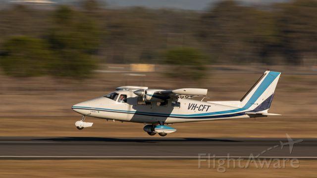Partenavia P-68 (VH-CFT) - Vulcanair P68C