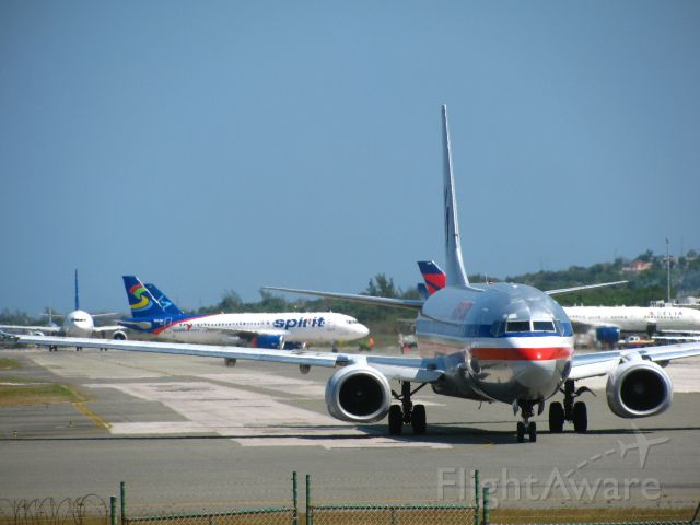 Boeing 737-700 — - Movements at Sangster International Airport, Montego Bay, Jamaica