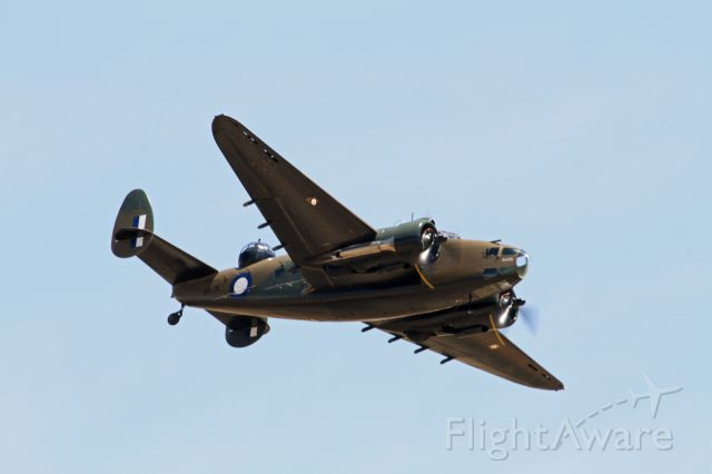 — — - This lockheed Hudson is the only one left flying in the world.We are so lucky to have this aircraft in Australia.