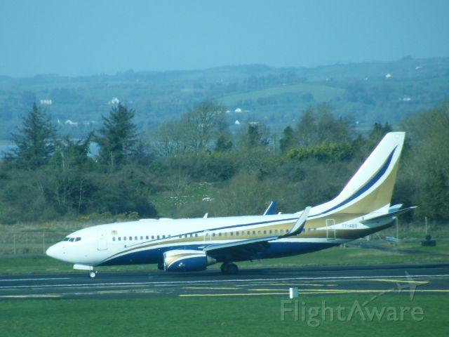 Boeing 737-700 (TT-ABD) - TT-ABD B737 BBJ AT EINN 07-03-2012