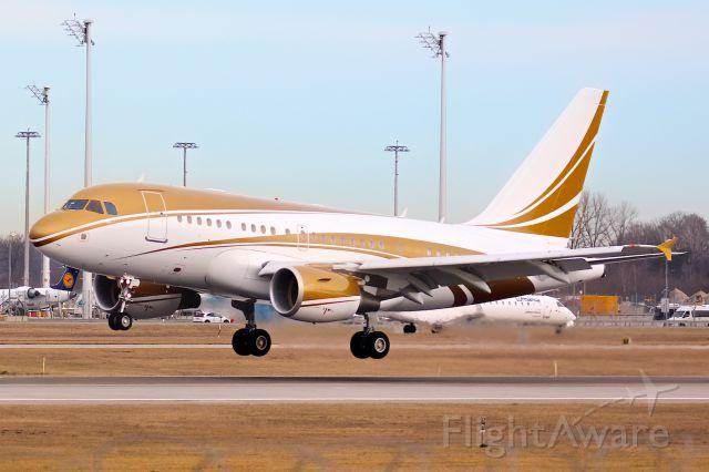 Airbus A318 (VP-CKH)