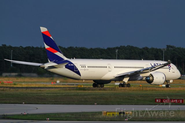 Boeing 787-9 Dreamliner (CC-BGL) - date: 09-Aug-2016