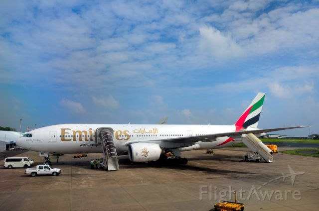 Boeing 777-200 (A6-EMH) - 2008 -My last time in the Maldives, for good!