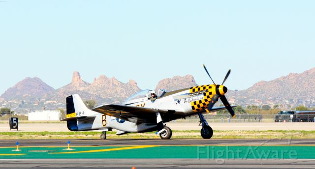 North American P-51 Mustang (46-3684)