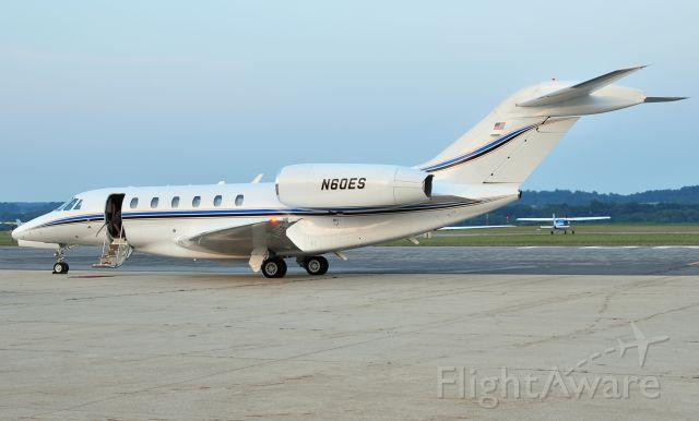 Cessna Citation X (N60ES) - Seen at KFDK on 6/19/2010.      http://discussions.flightaware.com/profile.php?mode=viewprofile&u=269247