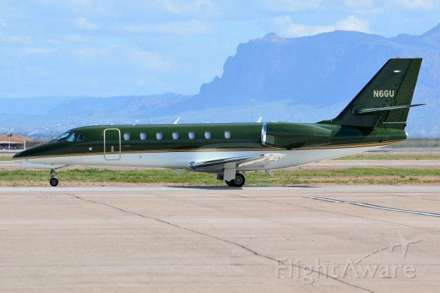 Cessna Citation Sovereign (N6GU)