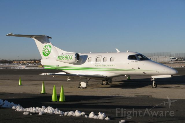 Embraer Phenom 100 (N288DX) - Quest Diagonostic Labs