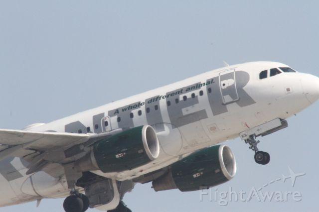 Airbus A318 (N801FR)