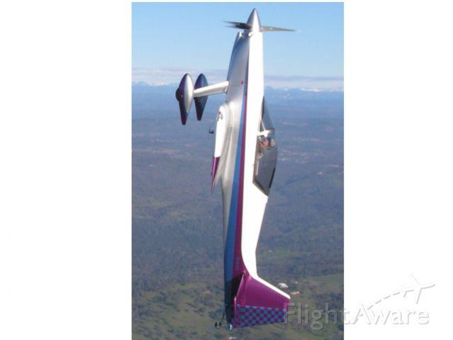 TEAM ROCKET F-1 (N144X) - Team Rocket F-1 going up
