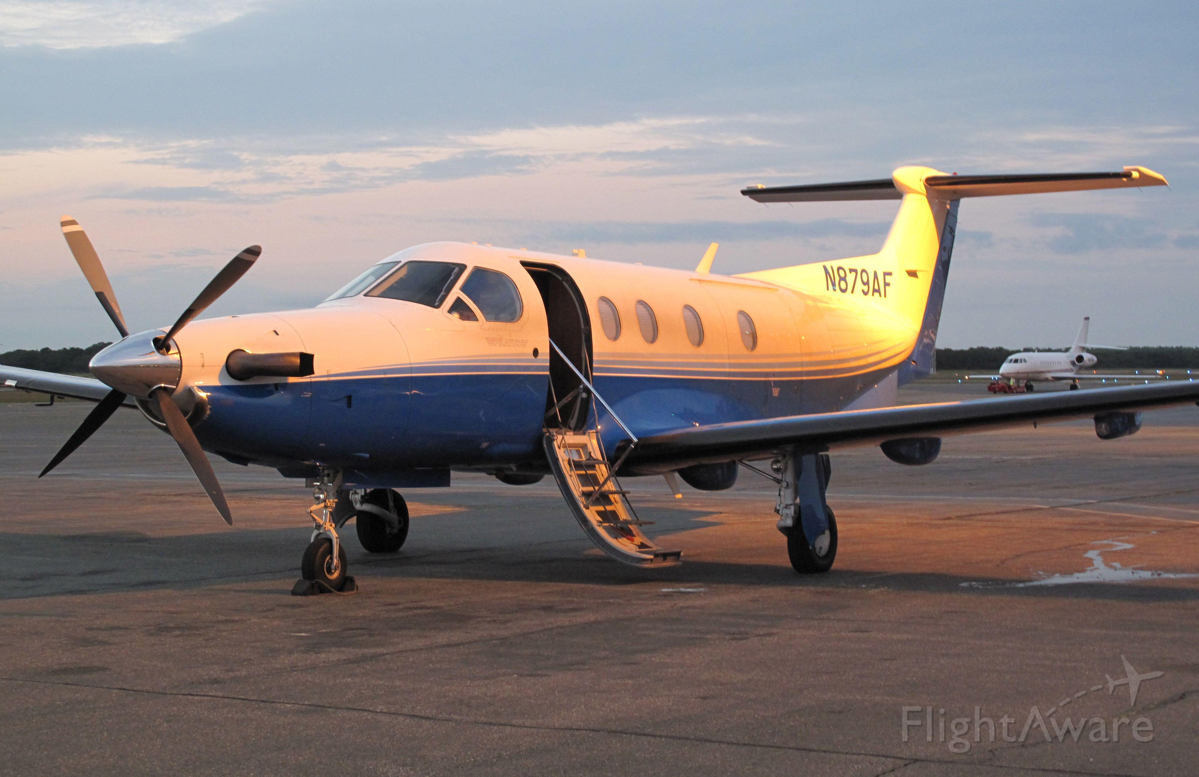 Pilatus PC-12 (N879AF)