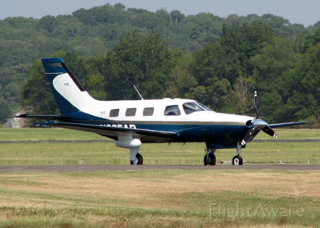 Piper Malibu Mirage (N205AP) - At Downtown Shreveport.