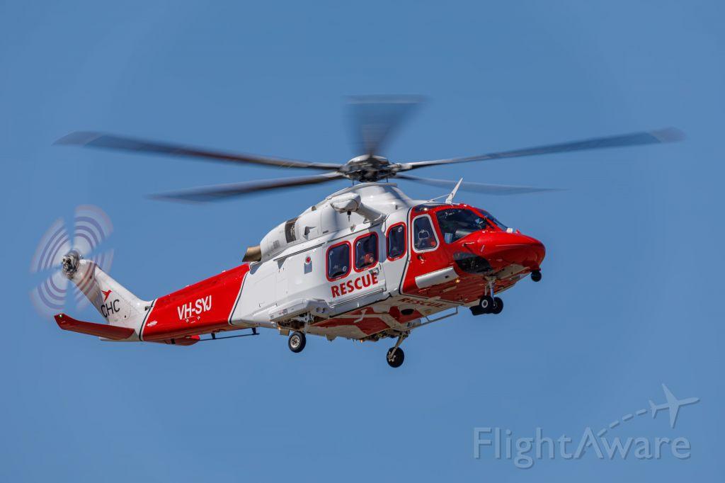 BELL-AGUSTA AB-139 (VH-SYJ) - CHOP42  RAAF Rescue