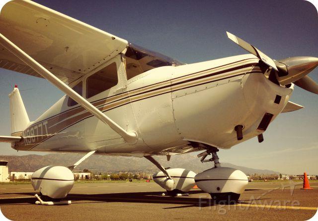 Cessna Skyhawk (N9877T) - Vintage Aircraft Display Day