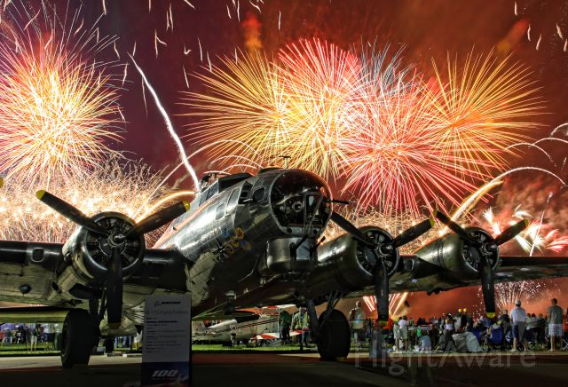 N3193G — - The Yankee Air Museums B-17G at AirVenture 2016 in Oshkosh, Wisconsin.