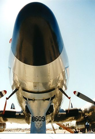 N494TW — - Nose shot of a Connie on display at a Copperstate Air Show and Fly In