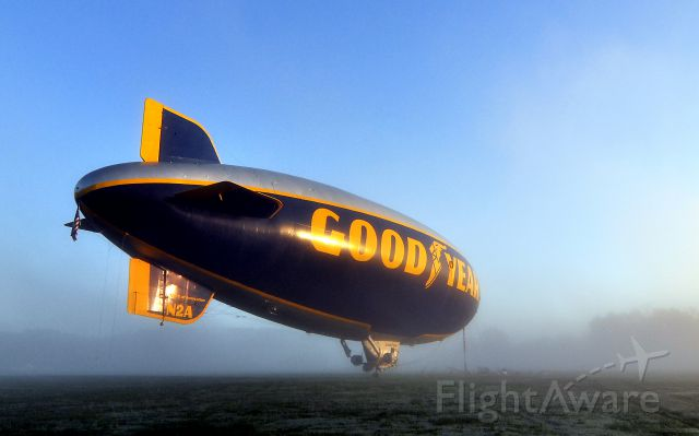 Unknown/Generic Airship (N2A) - Goodyear Blimp N2A.  I was surprised to see this parked in front of my hangar when I went for an early morning flight.