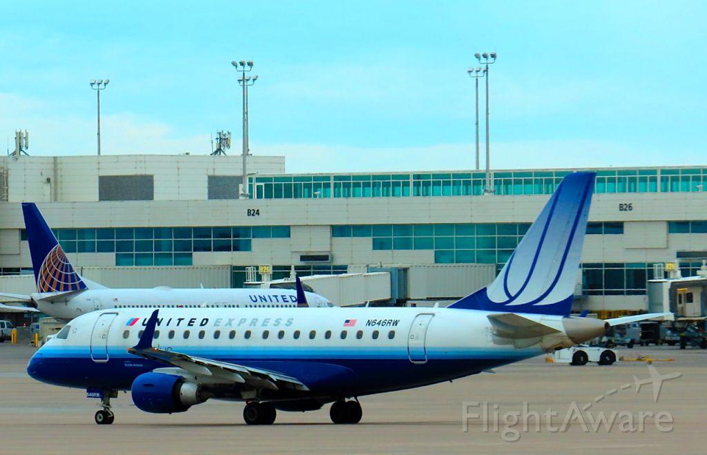 Embraer 170/175 (N646RW) - At Denver on October 20, 2013