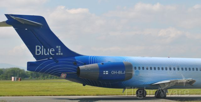 Boeing 717-200 (OH-BLJ) - Taken 10-6-13 Dublin Airport EIDW.