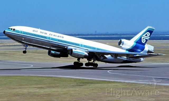 McDonnell Douglas DC-10 (ZK-NZT) - The last anz DC10-30 delivered to ANZ in 1977 fairly new in service and was sold in 1985 after anz lost ZK-NZP DC10-30 in 1979 B742