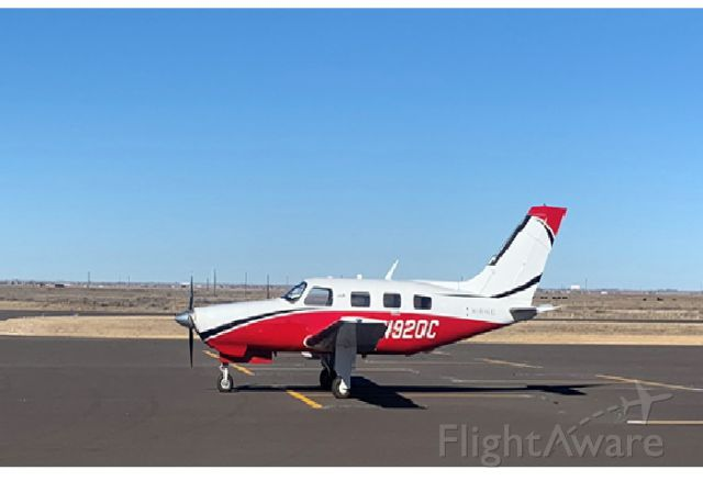 Piper Malibu Mirage (N920C) - Caught this one at Muleshoe TX 01/07/2020