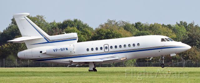 Dassault Falcon 900 (VP-BPW) - VP-BPI departing EGHI for EGJJ 14.10hrs Sept, 30 2014 - Nikon 810 70-200 2.8