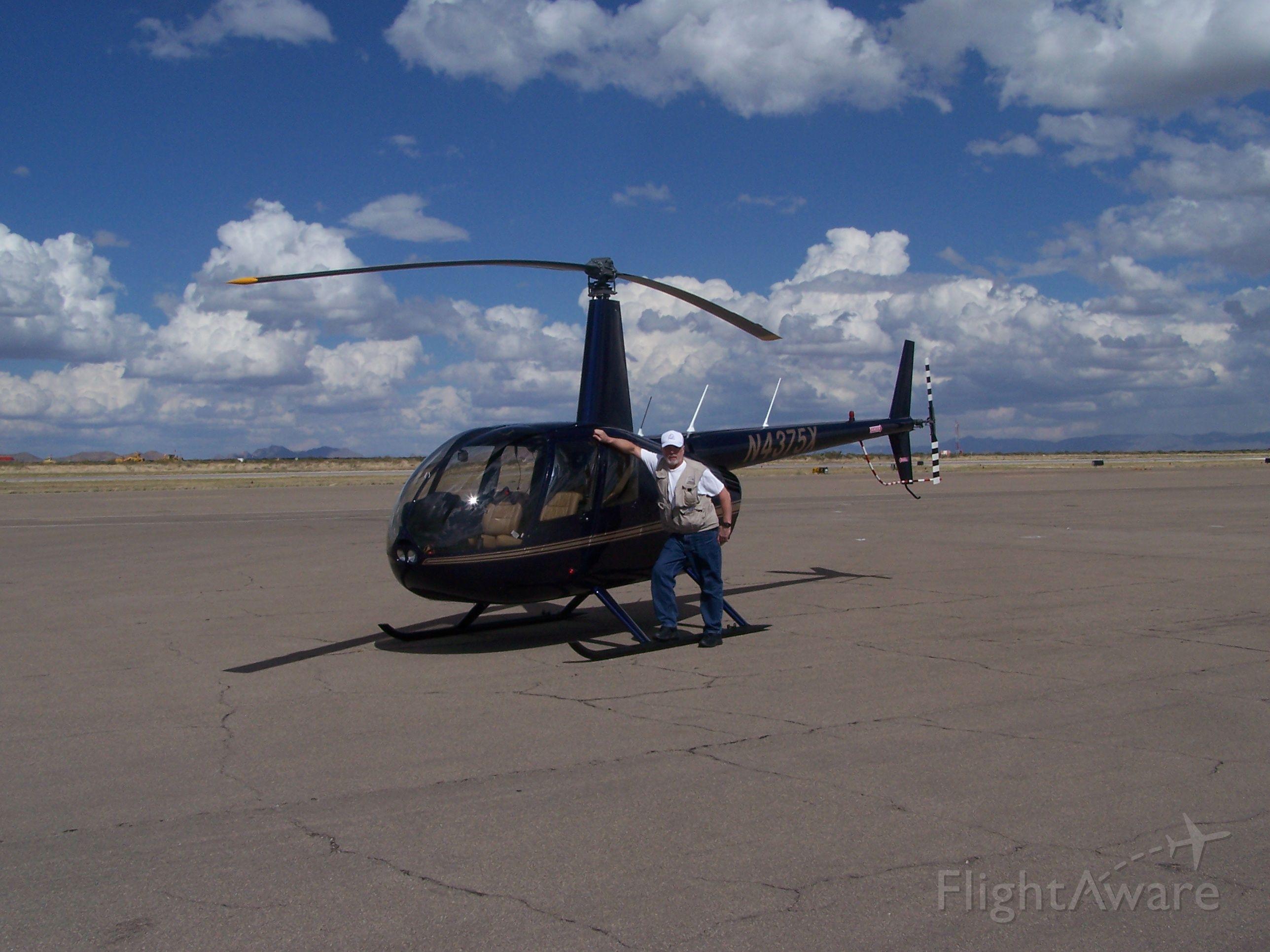 Robinson R-44 (N4375X) - Charlie Duchek in Las Cruces, NM 2009