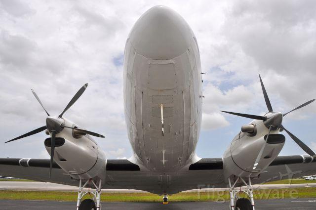 Douglas DC-3 (YV-2119) - A very clean turbo at Opa Locka