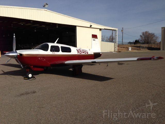 Mooney M-20 (N9146Q) - 03/06/2014, KSAF, Santa Fe Aero Services