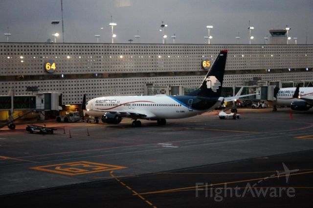 Boeing 737-800 (XA-AMN)