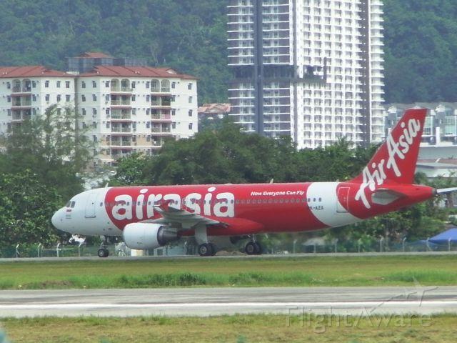 Airbus A320 (PK-AZA)