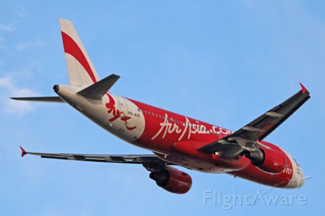 Airbus A320 (PK-AXD) - Airbus A-320 Air Asia Indonesia PK-AXD Perth Airport (YPPH).