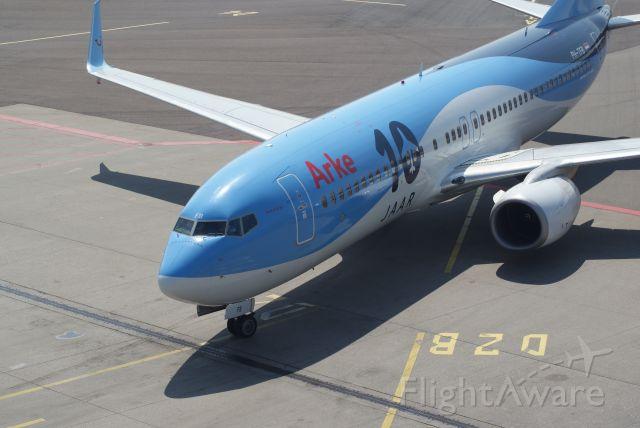 Boeing 737-800 (PH-TFB) - ArkeFly B737-8K5 cn35149
