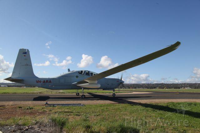 GROB Strato 1 (VH-ARA) - Egrett preparing for ferry flight from Adelaide to Germany (June 2014)