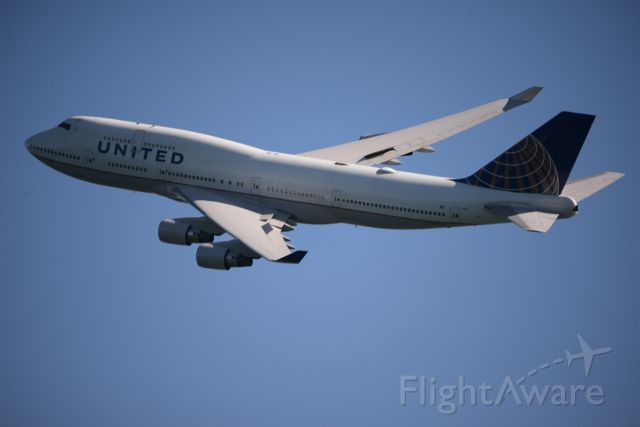 Boeing 747-200 (N120UA) - at San Francisco Fleet Week