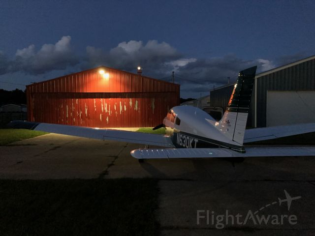 Piper Cherokee (N630KT) - Back home after a 972nm round trip in one day!