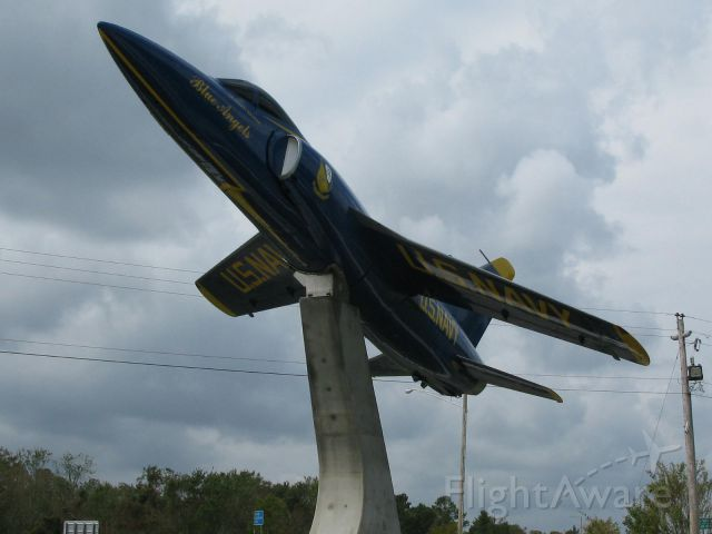 """— — - F 11 now """"flying"""" again in New Bern, NC after extensive clean up."""