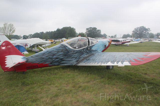 SUPERMARINE Swift (N90365) - Airventure 2010