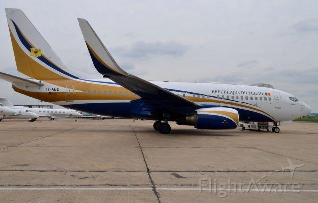 Boeing 737-700 (TT-ABD) - 18/05/2013br /news title