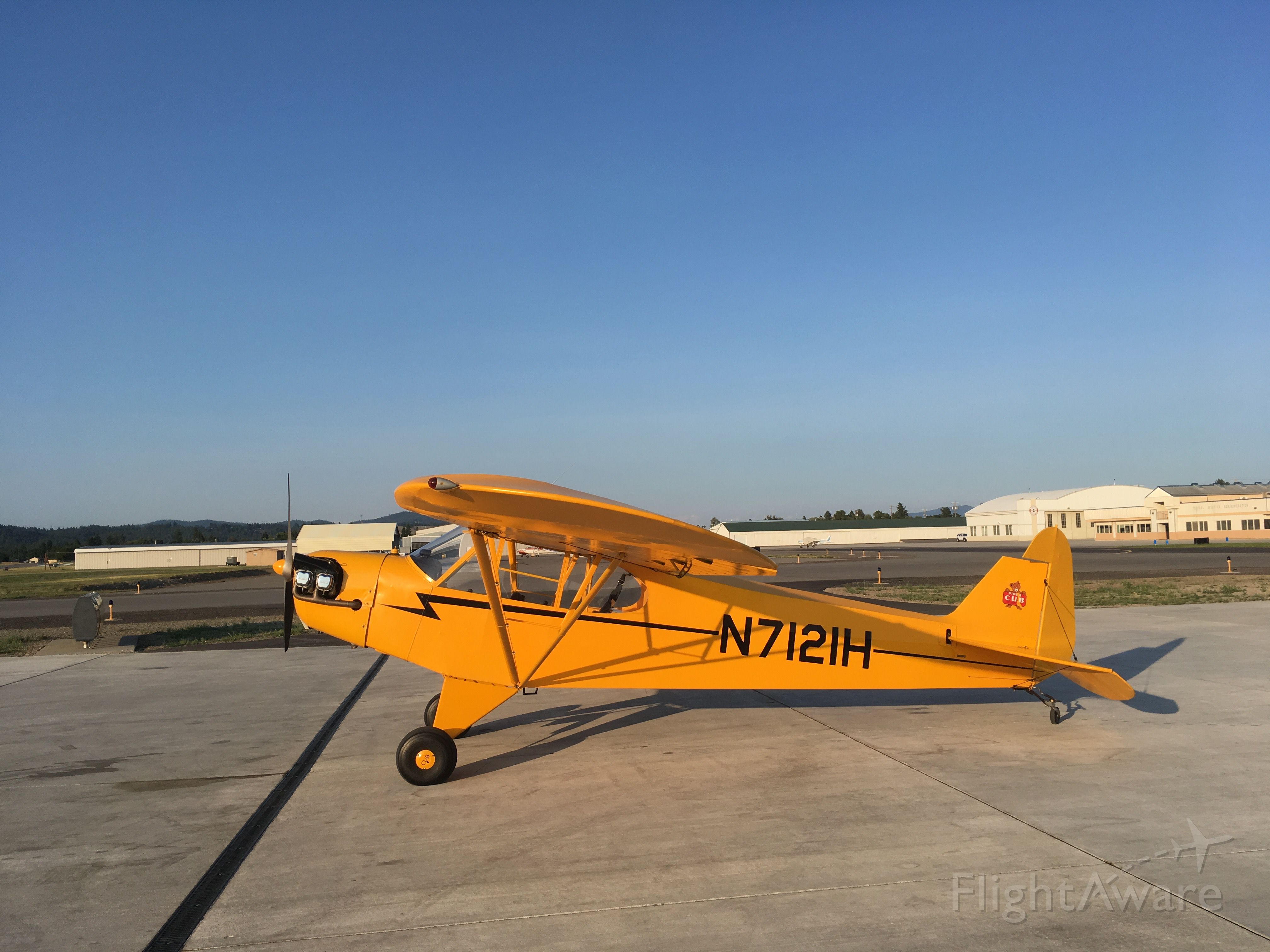 Piper NE Cub (N7121H)